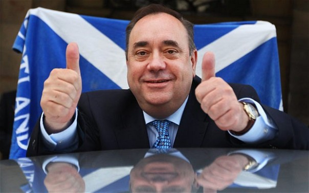 Scottish First Minister Alex Salmond.  Image courtesy of www.telegraph.co.uk.  No copyright infringement intended